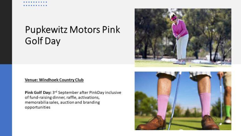 Pink Golf Day